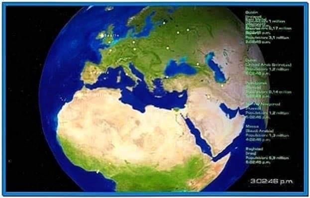 Cities of Earth 3D Screensaver 2.0.2