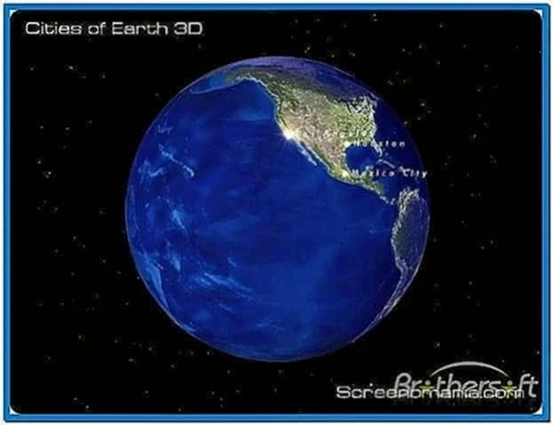 Cities of Earth 3D Screensaver 2.1