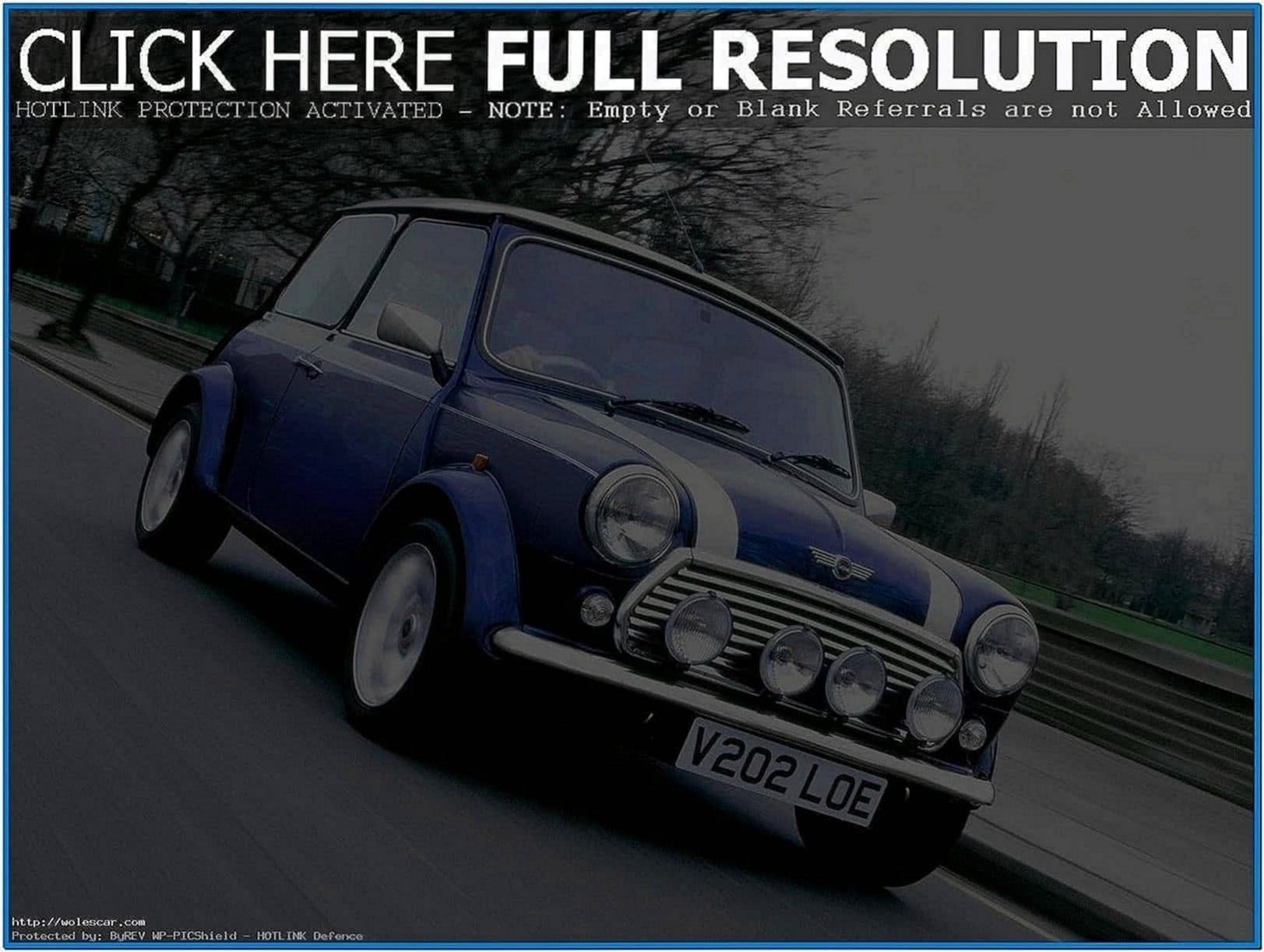 Classic Mini Cooper Screensaver