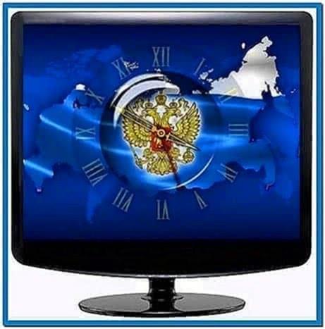 Clock Russia Screensaver 1.0