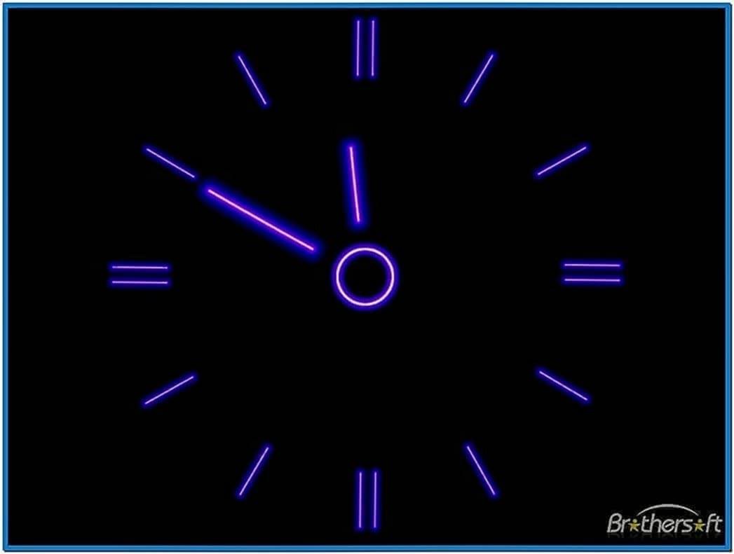 clock screensaver android free download