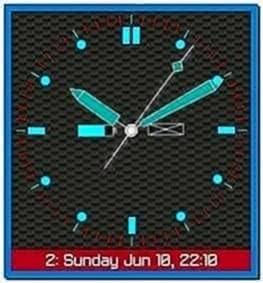 Clock Screensaver for Blackberry Curve