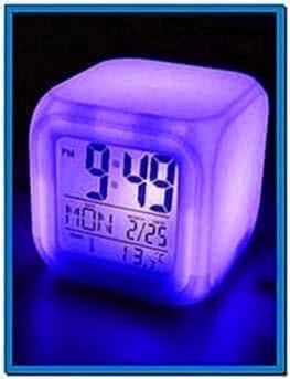 Clock Screensaver for Mobile Phone 176x220