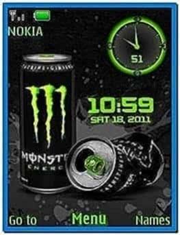 Clock Screensaver for Nokia 5130