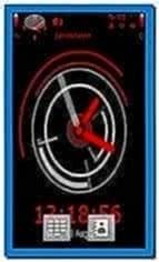 Clock Screensaver for Nokia C5-03
