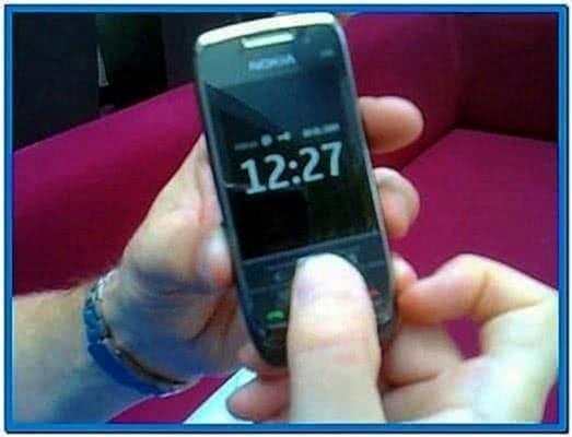 Clock Screensaver for Nokia E71