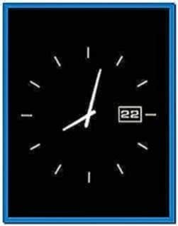 Clock Screensaver for Samsung Mobile Phone