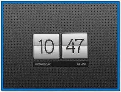 Clock Screensaver Ubuntu 10.10