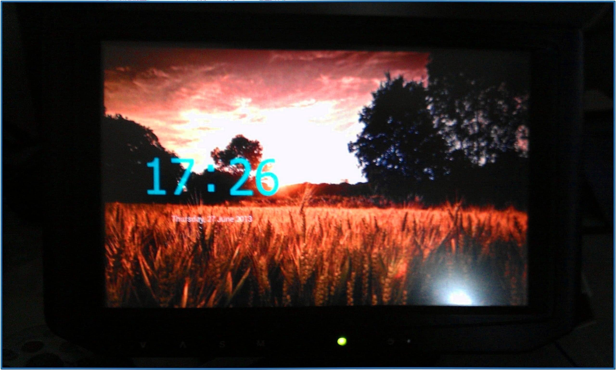Clock Screensaver Xbmc