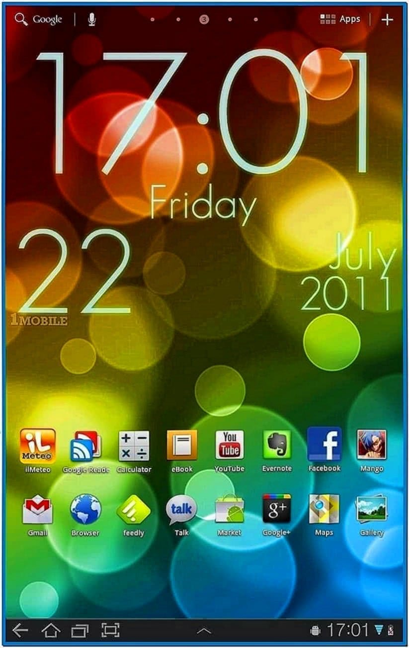 Clock Screensavers for Mobile Phones