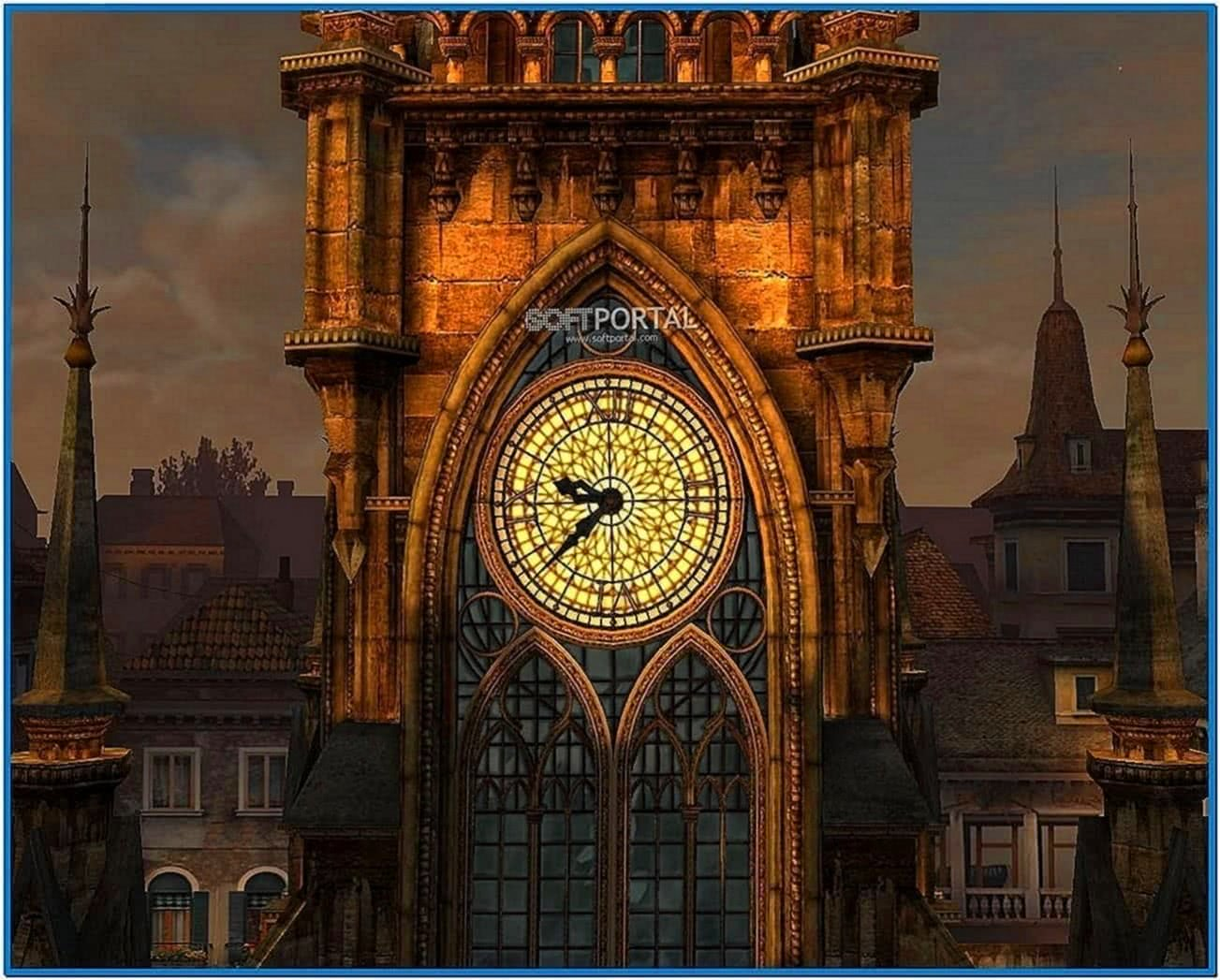Clock tower 3D screensaver 1.1