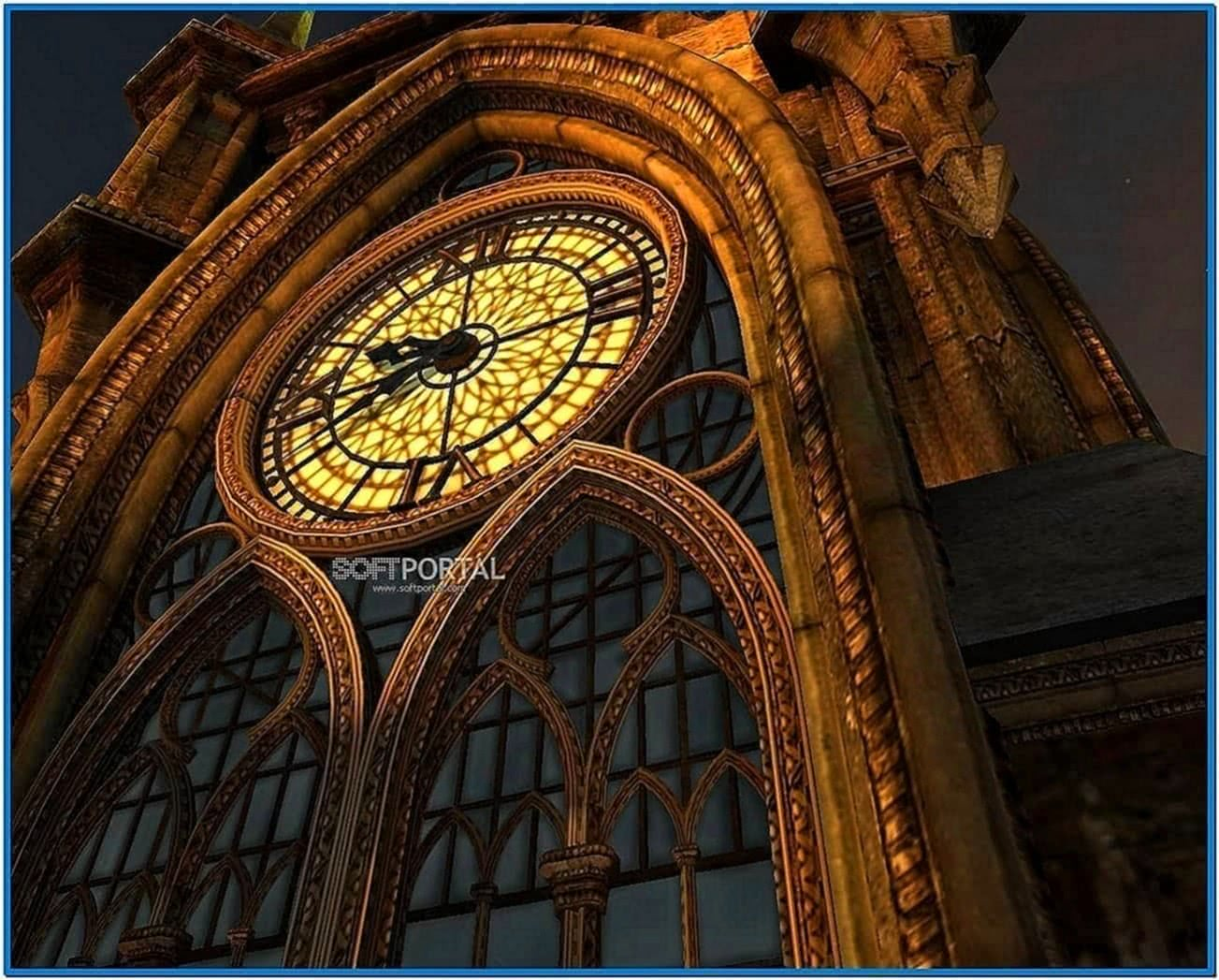 Clock Tower 3D Screensaver 1.1.0.6