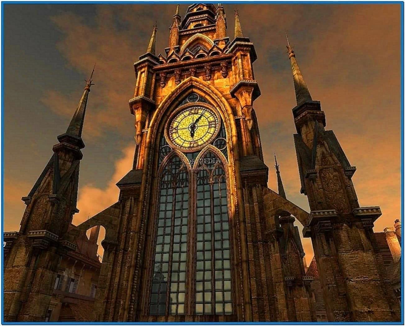 Clock Tower 3D Screensaver