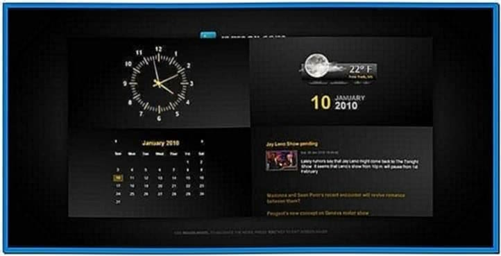 Clock Weather Screensaver Windows 7 Download For Free