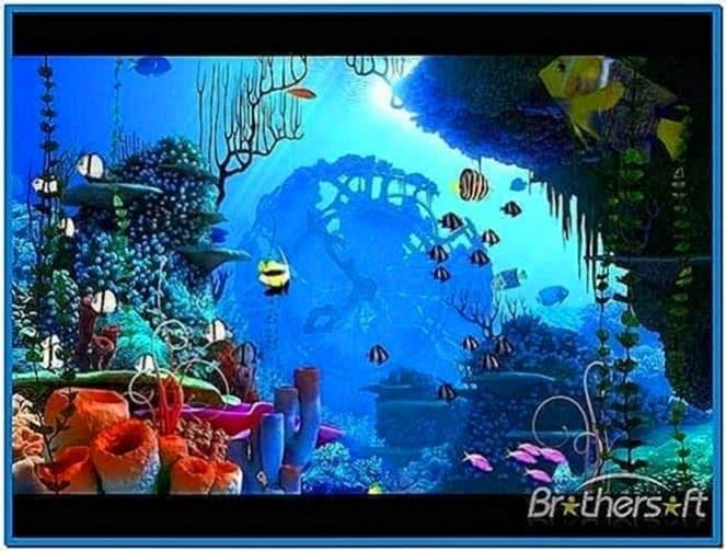 Coral Clock 3D Screensaver 1.1