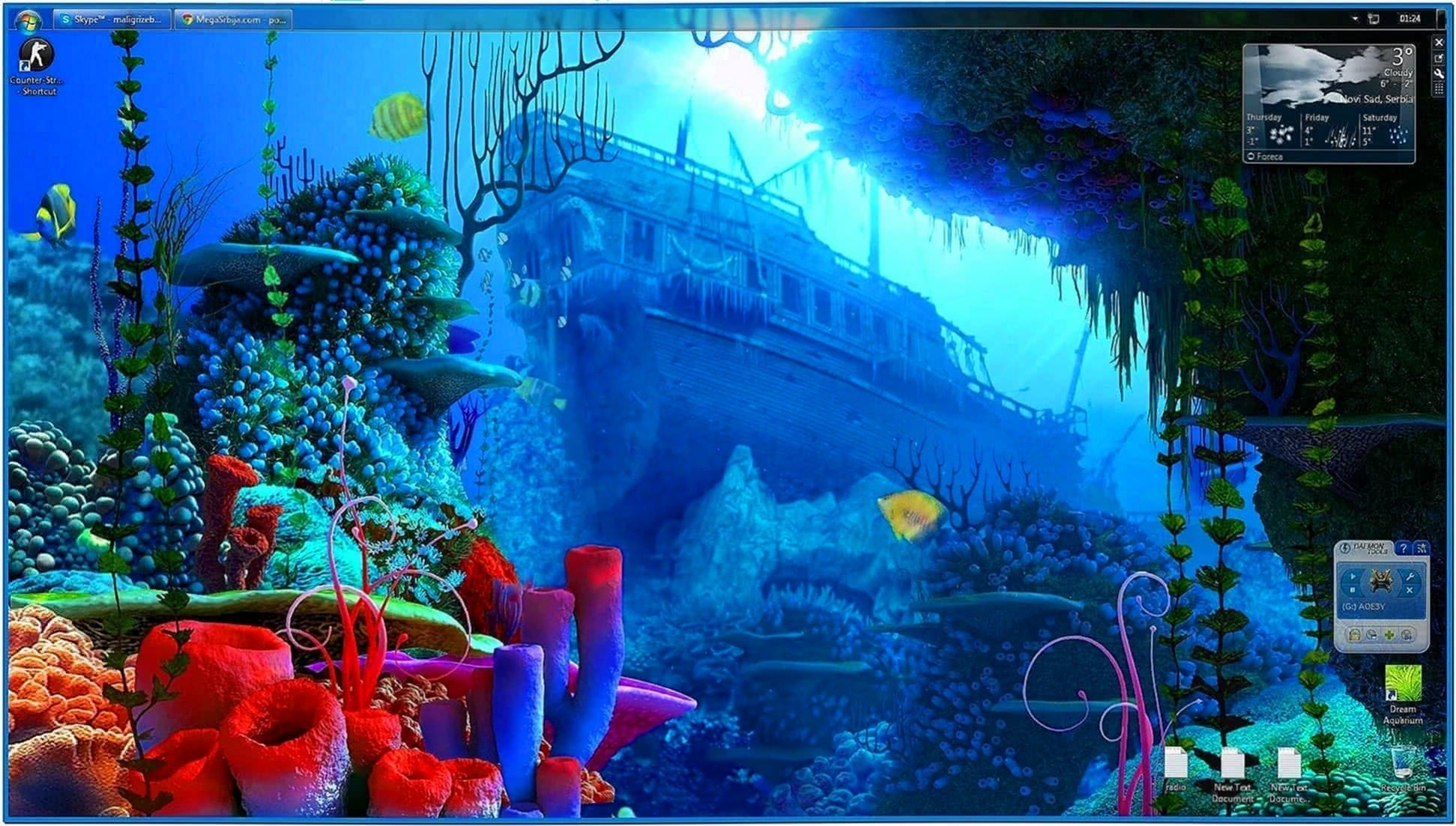 Coral Reef 3D Screensaver and Animated Wallpaper 1.1.4