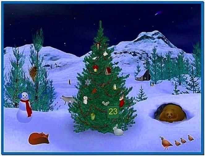 Countdown Till Christmas Screensaver