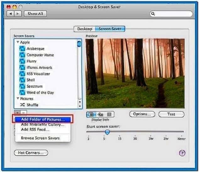 Create Own Screensaver