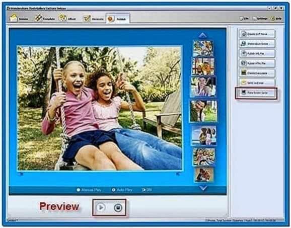 Create Screensaver Software