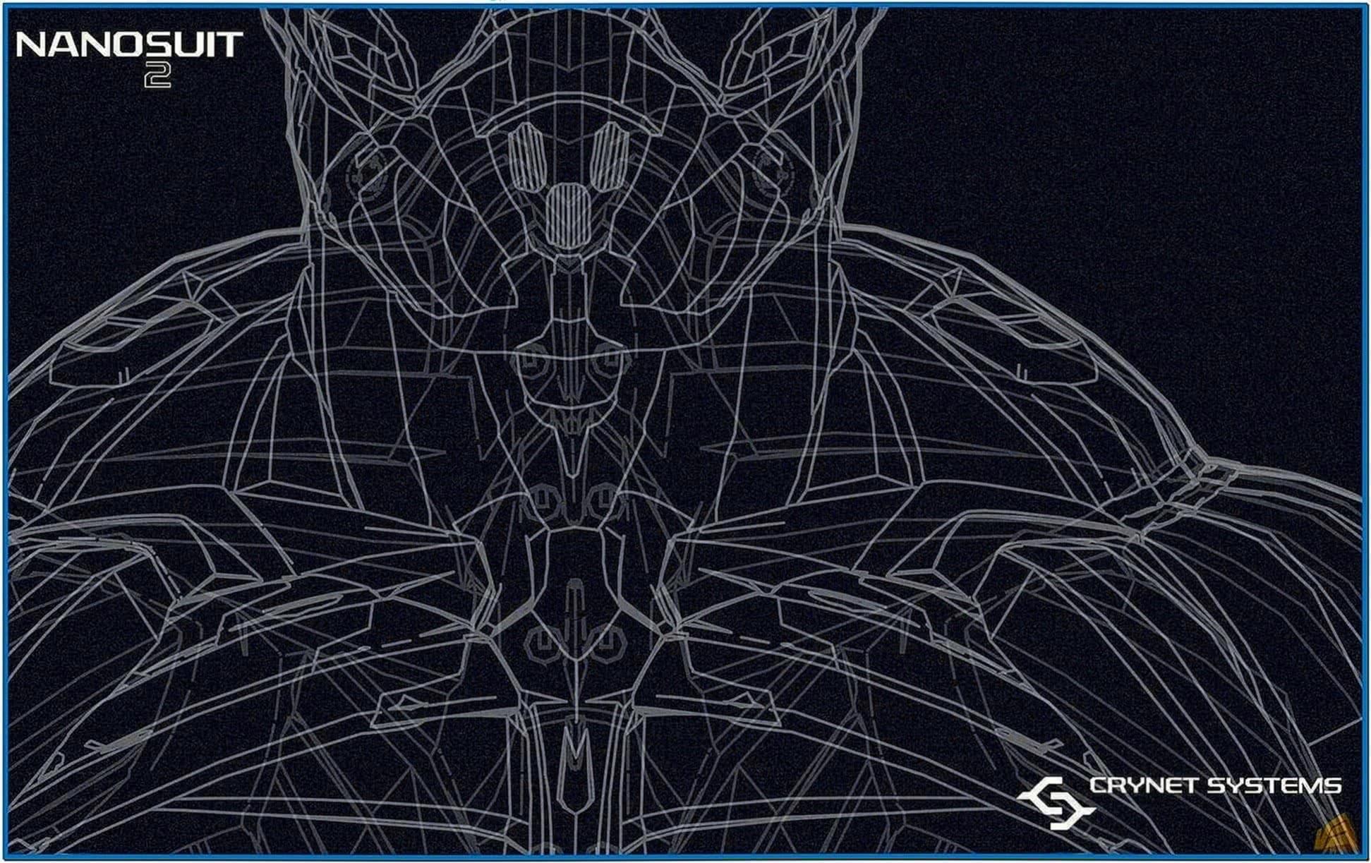 Crysis 2 nanosuit screensaver