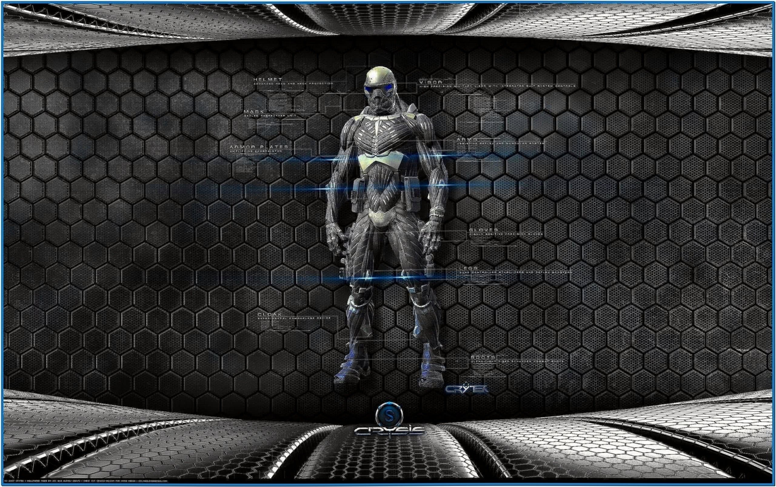 Crysis Nanosuit Screensaver