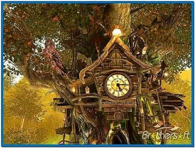 Cuckoo Clock 3D Screensaver 1.0