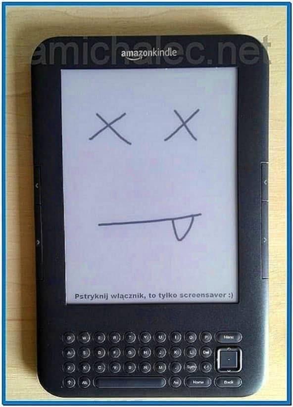 Custom Screensavers for Kindle 3