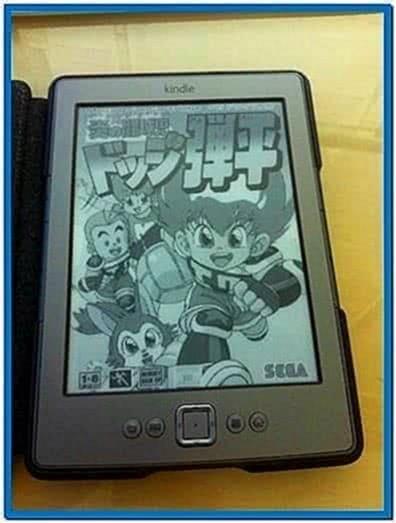 Custom Screensavers for Kindle 4