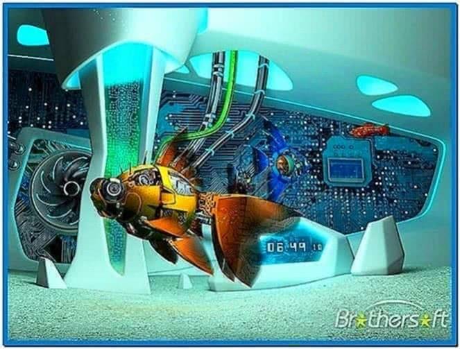 Cyberfish 3D Screensaver 1.0