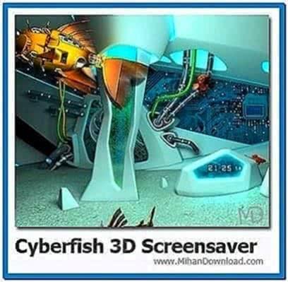 Cyberfish 3D Screensaver 1.0.2
