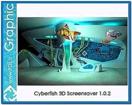 Cyberfish 3d screensaver 1 0 0 2