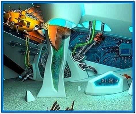 Cyberfish 3D screensaver
