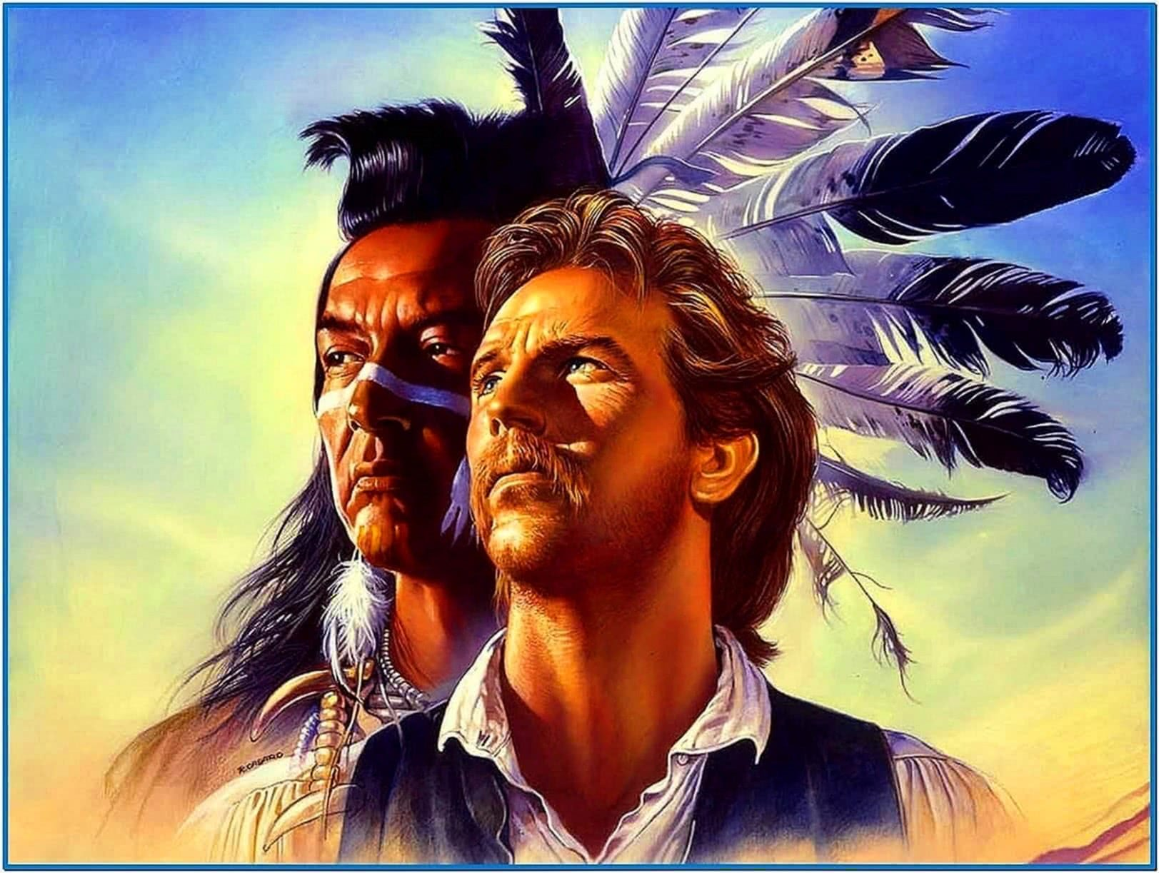 Dances with wolves screensaver