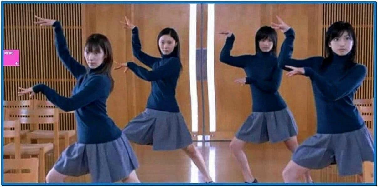 Dancing Girls Screensaver