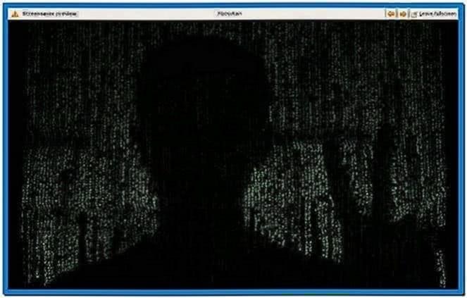 Debian Gnome Screensaver Matrix