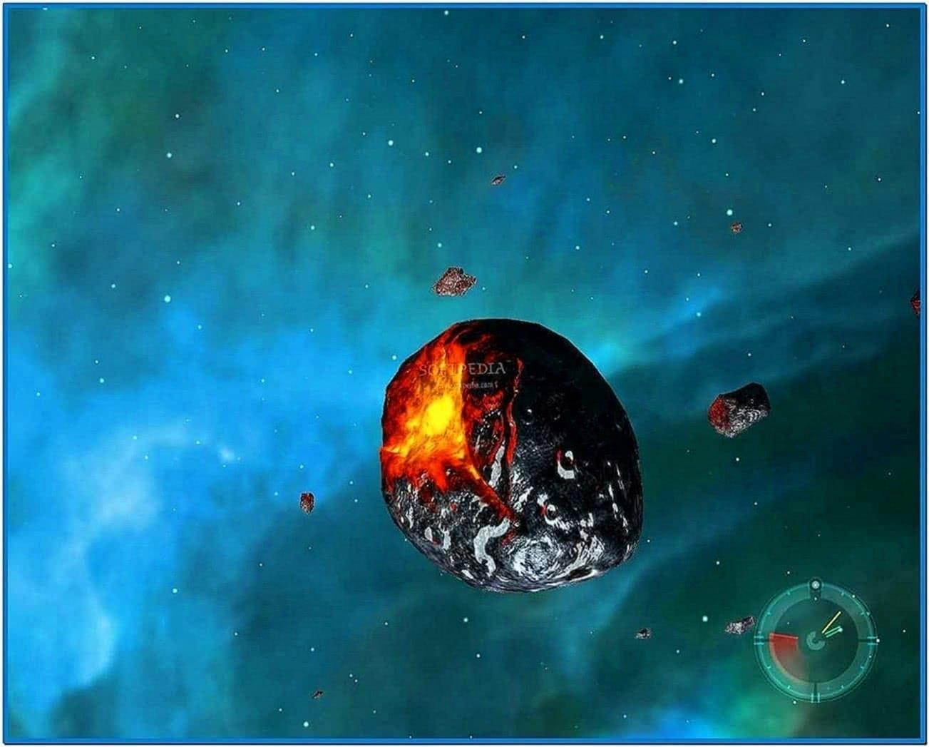 Deep Space 3D Screensaver Mac