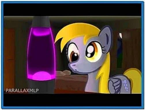 Derpy lava lamp screensaver