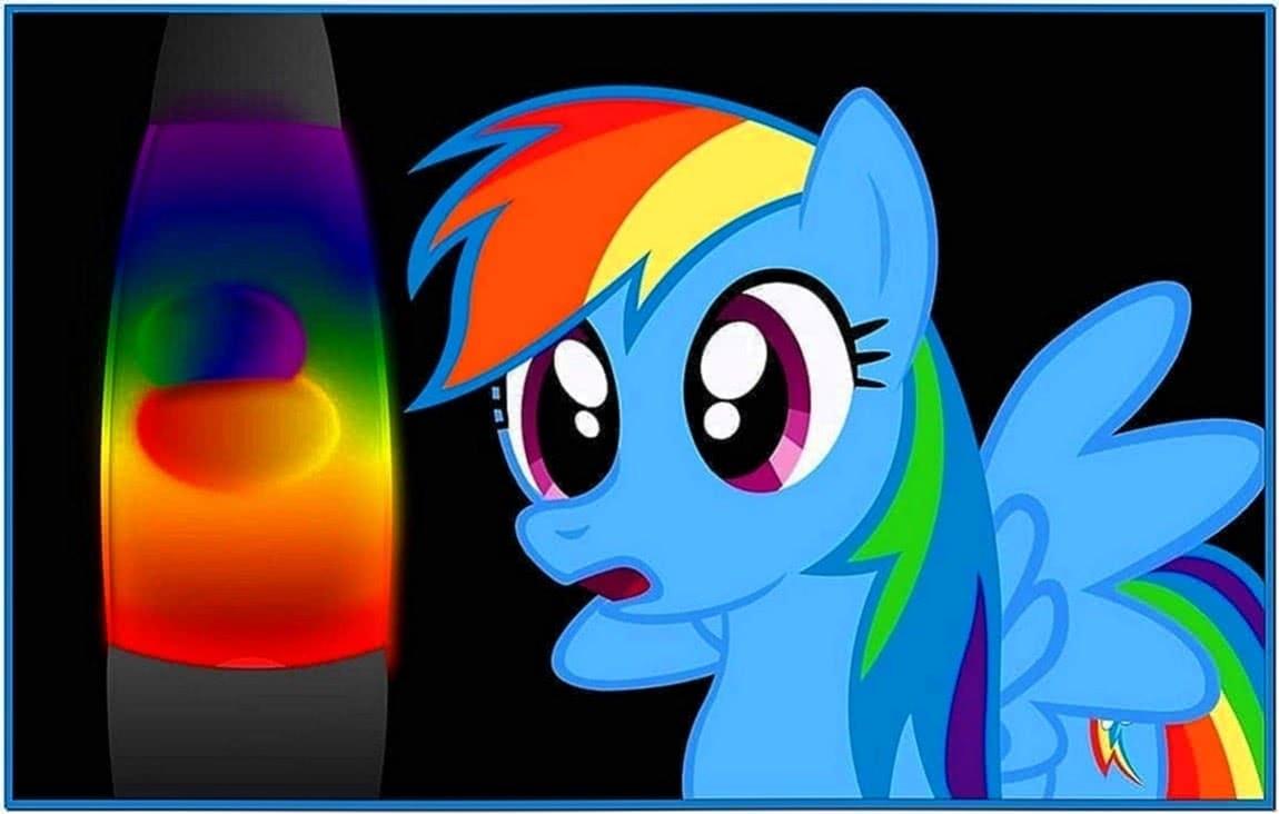 Derpy Loves Her Lava Lamp Screensaver