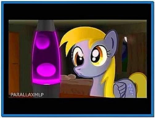 Derpy Loves Her Lava Lamp Screensaver