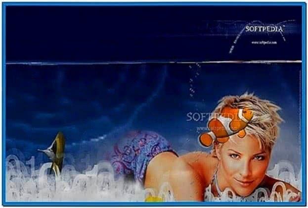 Desktop Fish Screensaver