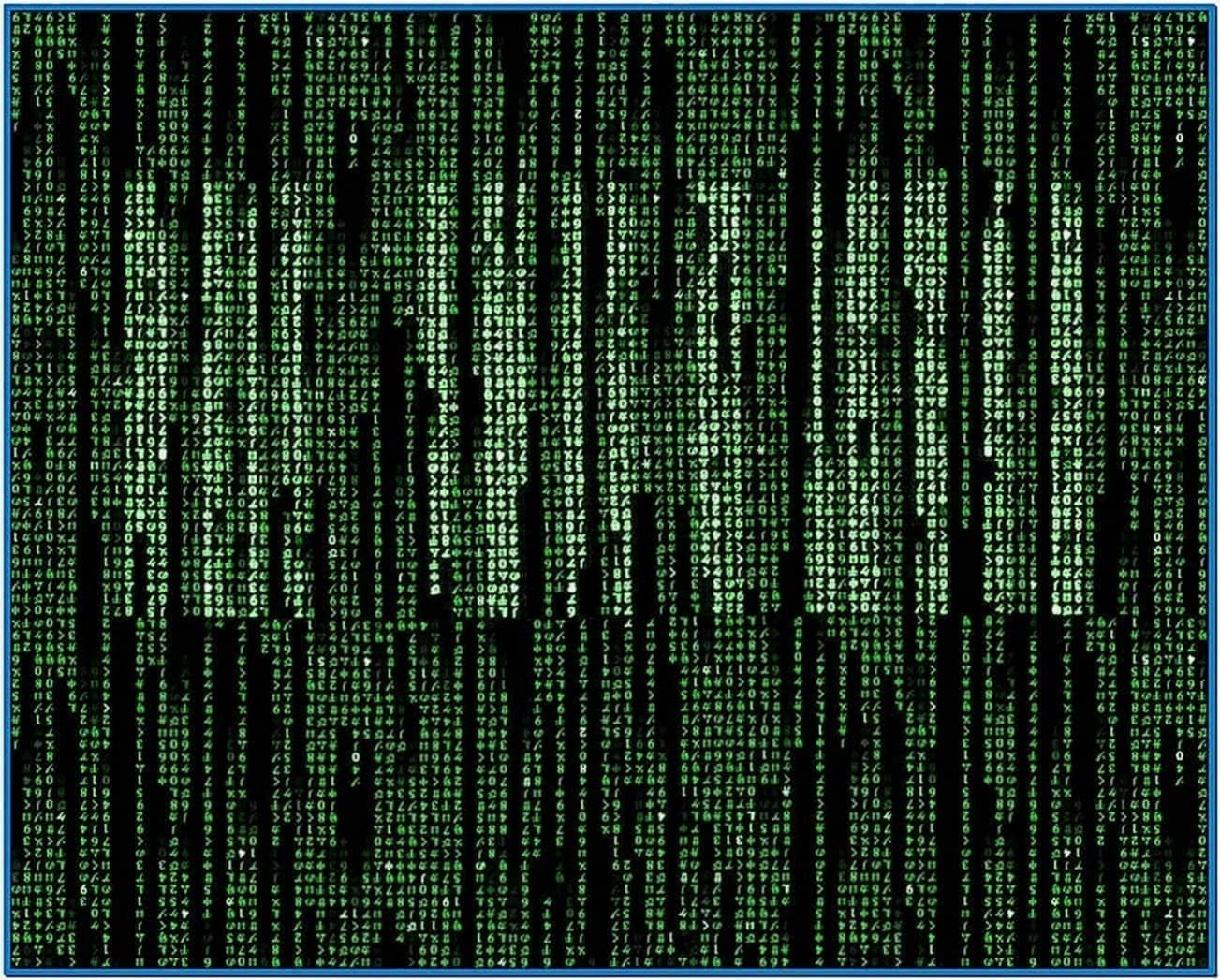 Desktop Matrix Code Screensaver