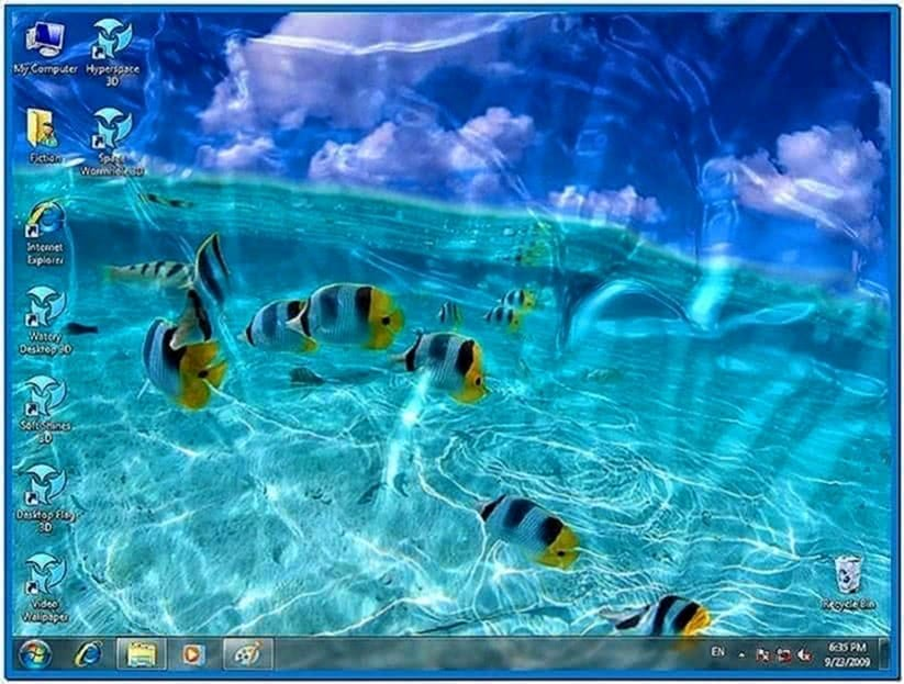 Desktop Moving Screensavers
