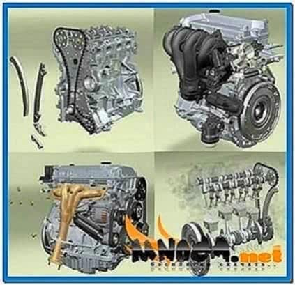 Deutz Engine 3D Screensaver 1.05