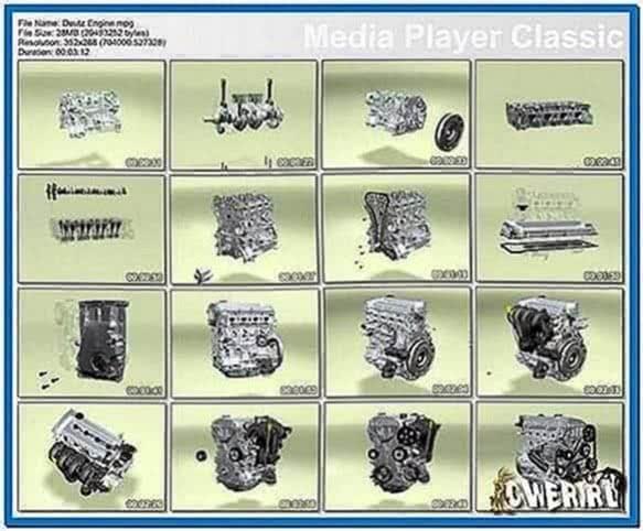Deutz Engine 3D Screensaver