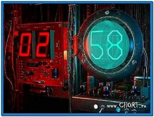 Digital Clock 3D Screensaver 1.0.0.4