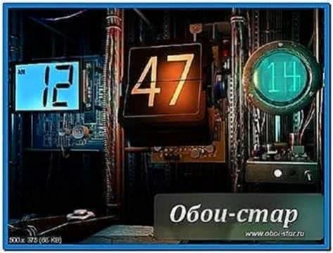 Digital Clock 3D Screensaver 1.0.0.6