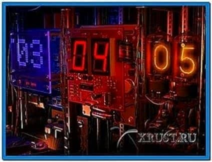 Digital Clock 3D Screensaver 1.0.0.6