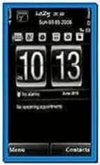 Digital Clock Screensaver for Nokia 5233