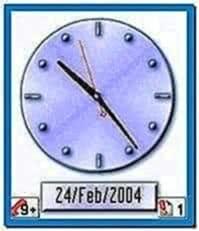 Digital Clock Screensaver for Nokia N70