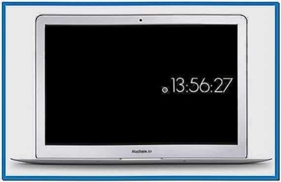 Digital Time Screensaver Mac